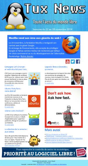 newsletter logiciel libre jonas chopin