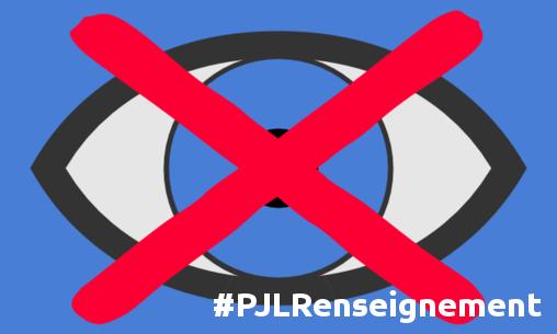 surveillance sur le web #PJLRenseignement